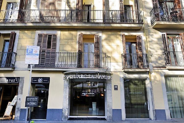 Barcelona Spain Arc La Rambla Hotel