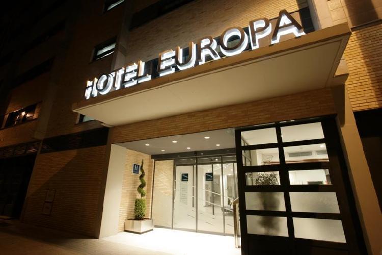 Hotel Europa Utebo Zaragoza