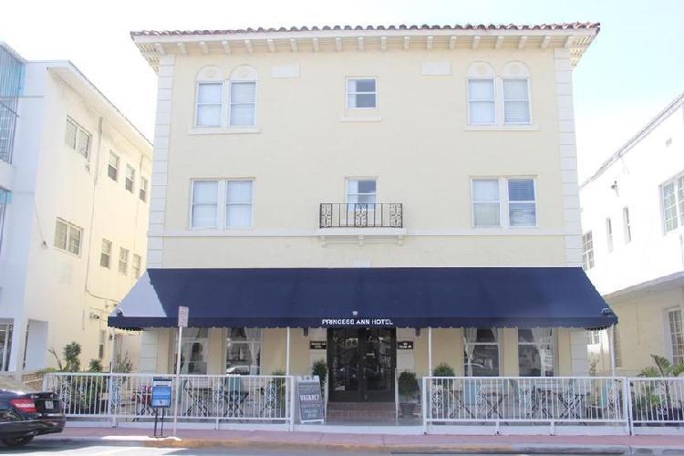 Princess Ann Hotel Collins Avenue Miami Beach Fl United States