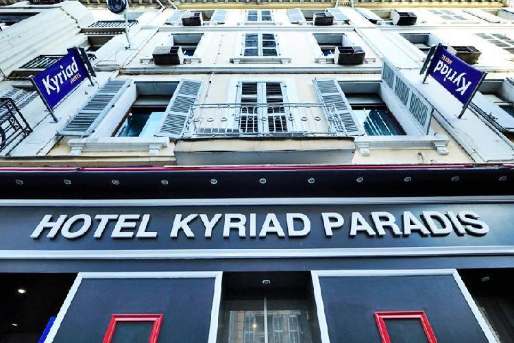 Hotel Kyriad Marseille Centre Paradis Marsella
