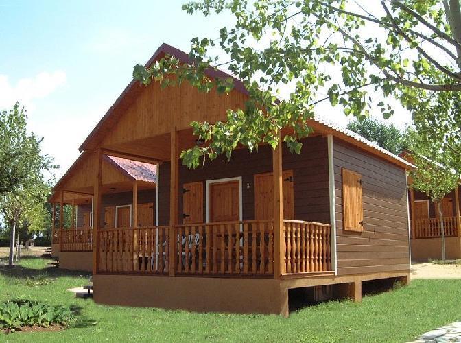 Bungalows camping regio salamanca - Bungalow de madera ...