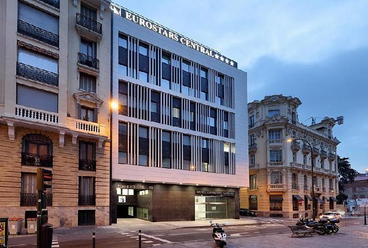 Hotel eurostars central madrid - Exe central madrid ...